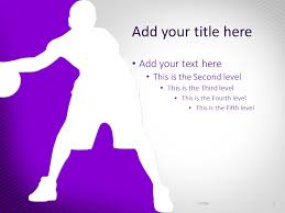 Basketball Powerpoint Template Basketball The Free Powerpoint Template Library