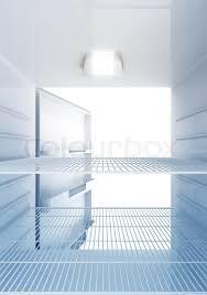 refrigerator inside empty. inside view of an empty modern fridge with blue light | stock photo colourbox refrigerator y