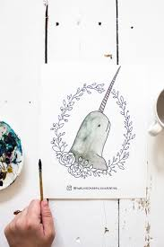 The magical free unicorns coloring pages you can print out. Free Printable Watercolor Adult Coloring Book Sheets Magical Creatures Unicorn Narwhal Swan Mermaid We Lived Happily Ever After