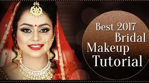 2017 best indian bridal makeup tutorial bridal makeup step by step tutorial krushhh by konica