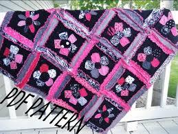 Flower Applique Quilt Pattern Rag Quilt Pattern Baby Quilt & ð???zoom Adamdwight.com