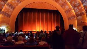 Radio City Music Hall Seating Chart Rockettes Radio City Music Hall Section Orchestra 5 Row G Seat 501