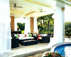 ceiling fans outdoor patio porch with lights