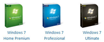 Windows 7 Editions Chart Windows 7 Version Comparison Home Professional Ultimate
