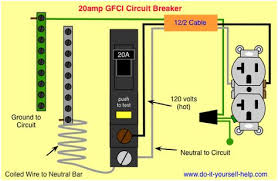 wiring diagram ground fault circuit interrupters electric wiring Diagram For 3 Wire Grounding 220 Volt With Interruter wiring diagram ground fault circuit interrupters electric wiring pinterest electrical wiring and craft