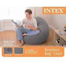 intex inflatable furniture. Intex Beanless Bag Inflatable Chair Furniture