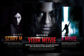 Movie Flyer Movie Poster Flyer Template Flyer Templates Creative Market 16