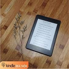 Used Very Good] Máy đọc sách Kindle Paperwhite Gen 4 (10th)PPW4 8GB, màn  hình 6'' 300PPI, Wifi, Bluetooth, chống nước IPX8 - Kindle Hà Nội