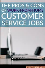 best ideas about customer service resume on the surface work from home customer service jobs seem flexible pay