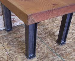 Kitchen Table Legs For Industrial Desk Or Dining Table Legs Heavy Structural Steel
