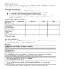 Annual Work Plan Template Mobile Application Development Project