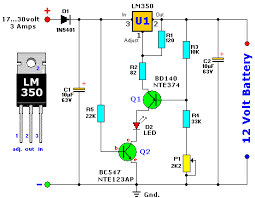 description except for use as a normal battery charger this except for use as a normal battery charger this circuit is perfect to constant charge a lead acid battery like the one in your flight box and