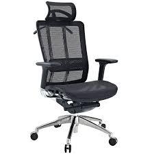 sleek office furniture. Fleming Ergonomic Office Chair Black - Modern Chairs Furniture Sleek