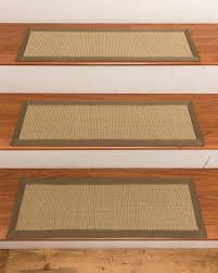 carpet strips for stairs see details a sisal carpet stair treads set of carpet tack strips