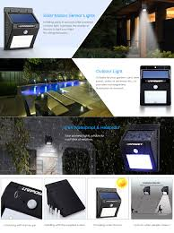 Shop MotionSensor Flood Lights At LowescomSolar Powered Outdoor Security Light Motion Detection