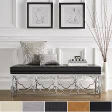 Bryn-Chrome-Quatrefoil-Base-Bench-by-iNSPIRE-Q-