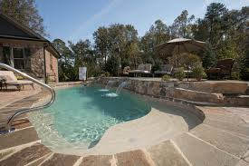Backyard Pool Designs Adorable Rising Sun Pools Spas InGround Pools Transform Your Backyard