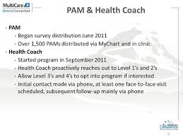 Multicare Health System Health Coaching And Pam Shannon