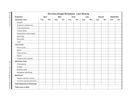 Business Expenses Spreadsheet Template Bills Self Employed