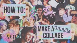 How To: Make a Tumblr Collage! ♡ - YouTube