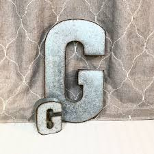 44cbafe a9f b0e411accb large metal letters letter g