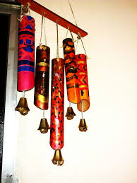 How To Make Wind Chimes Cardboard Wind Chime 3 Steps With Pictures