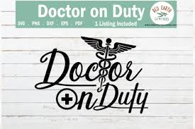 Doctor On Duty Healthcare Worker Graphic By Redearth And Gumtrees Creative Fabrica