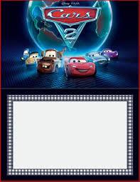 Invitation Layout Free Cars Invitation Templates Free And Printable