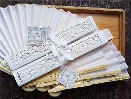 20 pcs lot personalized luxurious silk fold hand fan in elegant laser cut gift