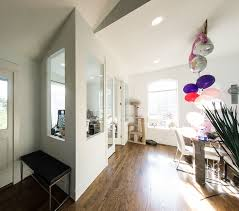 Office living room Contemporary Theres Lot Of Light From The Big Window In The Home Office And All The Interior Windows And French Doors Really Let That Light Through To The Dining Pinterest Heres How Turned Our Formal Living Room Into Home Office