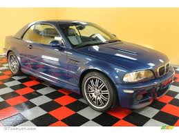 2002 Topaz Blue Metallic BMW M3 Convertible #53672218 | GTCarLot ...