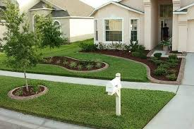 simple landscaping ideas. 35 Easy Simple And Cheap Landscape Ideas For Front Yard Wartaku Throughout Landscaping On A Budget Prepare