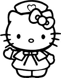 Hello Kitty Nurse Coloring Pages Coloring Pages