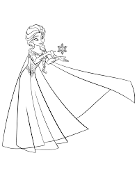 Creative Designs Elsa Coloring Page Pages 4 Hd Free Games Online