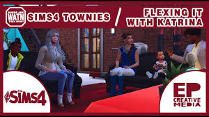Where Are They Now Ep 1   Flexing It With Katrina   Sims 4 - YouTube