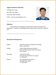 Ojt Resume 24 resume for ojt hrm sumayyalee 1