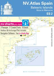 Es 2 Nv Atlas Spain Balearic Islands Ibiza To Menorca