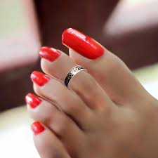 Toe Nail Art Designs 25 Red Toe Nail Art Designs Ideas Design Trends Red Toe Nail