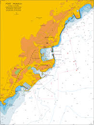 Large Scale Nautical Charts Mediterranean Sea France Port Monaco Scale 1 15 000 Free