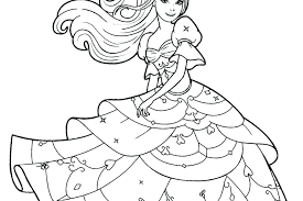 Barbie Coloring Page Printable Tennisplusme