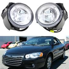 2004 Chrysler Pacifica Fog Lights 2pcs Pair For Chrysler Pacifica 2004 Fog Light Driving Light Assembly 10w High Power Drl Daylight Driver Passenger Side