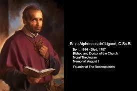 Catholic Quotes 93 Wonderful Daily Catholic Quote From St Alphonsus Maria De' Liguori CSsR