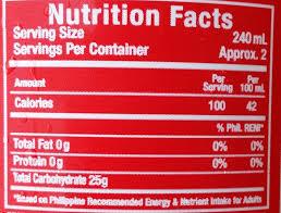 Coca Cola Nutrition Chart Coca Cola The Coca Cola Company 50 Cl