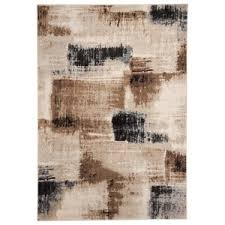 brown and white rug. Signature Design By Ashley Contemporary Area Rugs Calvin Brown/Black Large Rug Brown And White D