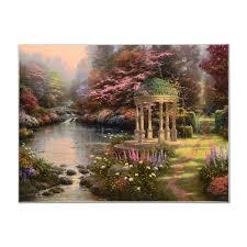 the garden of prayer impressionism thomas kinkade gallery 225404 qart com