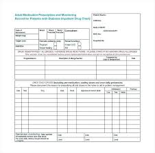 Sign In Sheets Template Free 5 Best Images Of Free Printable Medication Log Sheets
