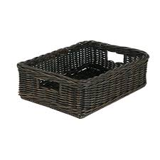office storage baskets. The Basket Lady Basic Wicker Storage Office Bins Baskets Officeworks K