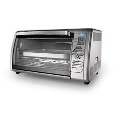 black decker 6 slice convection countertop toaster oven silver to3000g