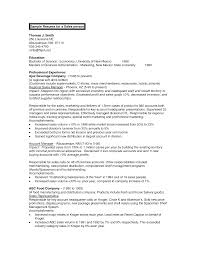 Business Resume Objective Business Administration Resume Example Acf Business