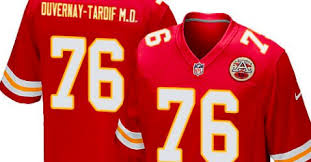 Image result for nfl player wants md on jersey